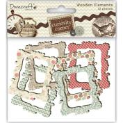 Curiosity Corner Wood Elements-Frames