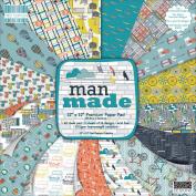 First Edition Premium Paper Pad 30cm x 30cm 48/Pkg-Man Made