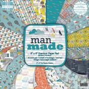 First Edition Premium Paper Pad 20cm x 20cm 48/Pkg-Man Made