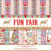 Helz Fun Fair Paper Pack 30cm x 30cm -