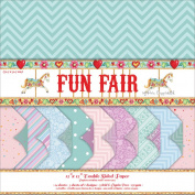 Helz Fun Fair Paper Pack 30cm x 30cm -Premium Backing Designs