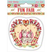 Helz Fun Fair Character Stamp Set-Love Ride