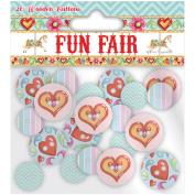 Helz Fun Fair Wooden Buttons