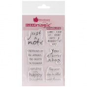 Woodware Clear Stamps 14cm x 8.9cm Sheet-In The Frame Ditties