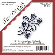 Die-Namites Die-Winter Floral, 9.5cm x 9.5cm