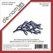 Die-Namites Die-Bare Branch, 9.5cm x 4.6cm