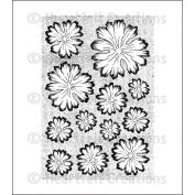 Heartfelt Creations Cling Rubber Stamp Set 13cm x 17cm -Vintage Morning Background