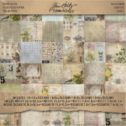 Idea-Ology Paper Stash Paper Pad 30cm x 30cm 36/Pkg-Wallflower