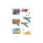 3D Die-Cut Decoupage Sheet 21cm x 30cm -Planes