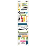 Max Trinket Stickers 7.6cm x 30cm
