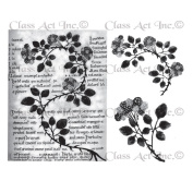 Chapel Road Cling Mounted Rubber Stamp Set 15cm x 17cm -Bramble