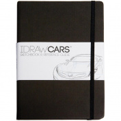 IDRAW Cars Sketchbook & Reference Guide-Black