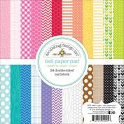 Kraft In Colour Paper Pad 15cm x 15cm 24/Sheets-Colour