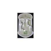 Resin Embellishments 4/Pkg-The Key To My Heart 4.8cm x 4.8cm