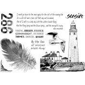 Crafty Individuals Unmounted Rubber Stamp 12cm x 18cm Pkg-Call Of The Sea