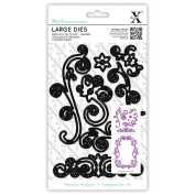 Xcut Decorative Dies Large-Floral Flourishes