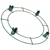 Wire Advent Wreath 30cm -Green