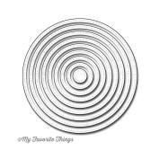 Die-Namics Dies-Stitched Circle STAX