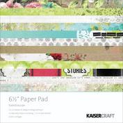 Kaisercraft Paper Pad 17cm x 17cm 40/Pkg-Kaleidoscope