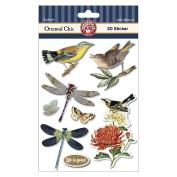 Oriental Chic 3D Stickers