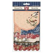 Oriental Chic Die-Cut Pad 18/Sheets