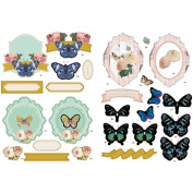 Fundamentals 3D Decoupage Pack-Butterflies