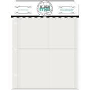 Misc Me Page Protectors 20cm x 15cm 40/Pkg-Variety Pack