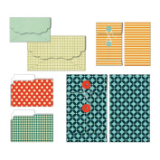 Be Different Patterned Envelopes & Folders 6/Pkg-