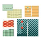 Be Different Patterned Envelopes & Folders 6/Pkg-