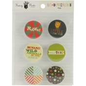 Be Different Flair Embellishments 6/Pkg-