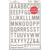 Stencil Mask Peel Away Alphabet 30cm x 46cm Sheet-Blindside, 4.4cm Letters