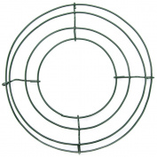 Wire Wreath Frame 20cm -Green