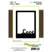 Die-Versions Sweet Frames Die-Love, 7.4cm x 10cm