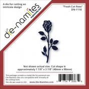 Die-Namites Die-Fresh Cut Rose, 4.8cm x 9.8cm