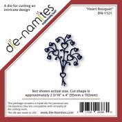 Die-Namites Die-Heart Bouquet, 5.6cm x 10cm