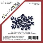 Die-Namites Die-Love Arrangement, 8.4cm x 6.7cm