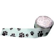 Crepe Paper Streamer, 4.6cm x 250cm , Dog Paw