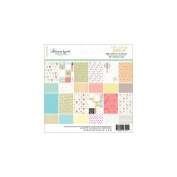 Hello World Paper Pad 15cm x 15cm 24/Sheets-12 Double-Sided Designs/2 Each