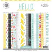 Hello Sunshine Paper Pad 30cm x 30cm 48/Sheets-Single-Sided