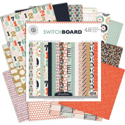 Switchboard Paper Pad 30cm x 30cm 48/Sheets-Single-Sided