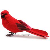 Mushroom Bird 13cm 1/Pkg-Male Cardinal