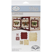Elizabeth Craft Pop It Up Metal Dies By Karen Burniston-Accordion Fancy Label