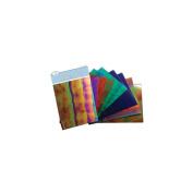 Mylar Shimmer Sheetz Sampler 13cm x 10cm 10/Pkg-Gemstone