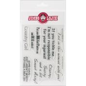 Jimbo Lojik Clear Stamps 10cm x 15cm Sheet-Set B