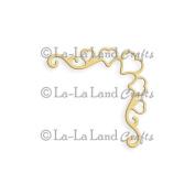 La-La Land Die-Heart Ribbon Corner, 4.4cm x 4.4cm