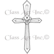 Class Act Cling Mounted Rubber Stamp 7.6cm x 4.4cm -Cross