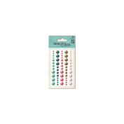 Now & Then Mildred Adhesive Enamel Dots 60/Pkg-With You