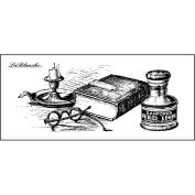 LaBlanche Silicone Stamp 10cm x 5.1cm -Scholars Desktop