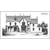 Lablanche Silicone Stamp 12cm x 6.4cm -Mansion