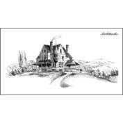 Lablanche Silicone Stamp 12cm x 6.4cm -Country Estate